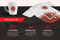 For the Love of Pizza Logo Template Product Image 1