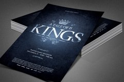 A Tale of Two Kings Church Flyer Product Image 5