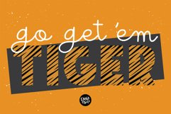 TIGER STORY Color Font Duo Product Image 4