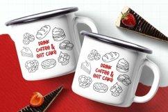 Web Font Food Dingbats Font Product Image 4