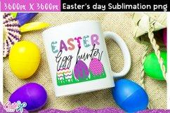 Easter egg hunter Sublimation design Product Image 3