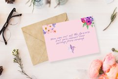 Spring Flowers and Hummingbirds Wanercolor Set Product Image 16