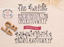 Funfont - Modern Hand Lettered Font with Cute Alternate Capitals Product Image 2