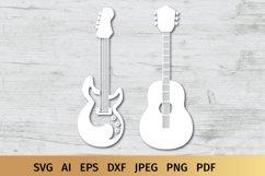 Guitar SVG | Music SVG Product Image 3