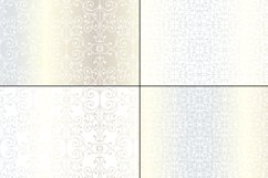 Seamless Silver Wrought Iron Patterns Product Image 4