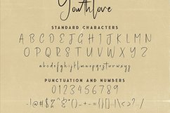 Youthlove Script Font Product Image 6