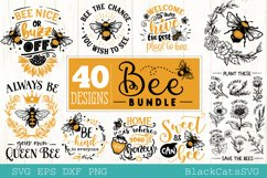 Bee Bundle SVG 40 designs Product Image 2