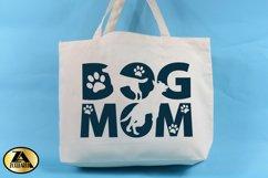 Dog Mom SVG Paw Prints SVG Dog Lover SVG Mothers Day SVG Product Image 2