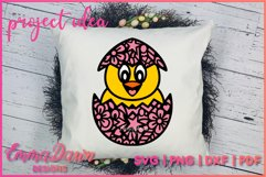 CHUCKY THE CHICK SVG 2 MANDALA ZENTANGLE EASTER DESIGNS Product Image 4