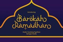 Barokah Ramadhan - Arabic Fauxlang Font Product Image 1