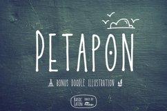 Petapon Font + BONUS Product Image 1