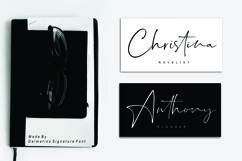 Dalmatins // Elegant Signature Font Product Image 4
