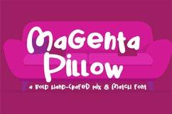 PN Magenta Pillow Product Image 1