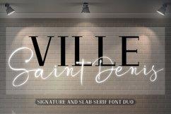 Ville Saint Denis - Font DUO Product Image 5