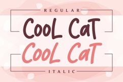 Cool Cat - Quirky Handwritten Font Product Image 2