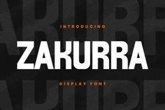 Web Font ZAKURRA Font Product Image 1