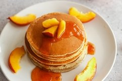 Pancakes with apricot jam Product Image 3