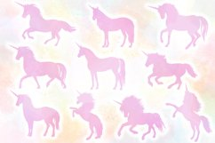 Unicorn Silhouettes SVG Cut Files Pack Product Image 2