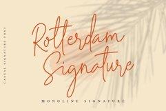 Rotterdam Signature - Casual Script Product Image 1