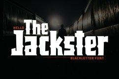 Jackster - Blackletter Font Product Image 1