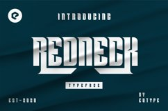 REDNECK Typeface Product Image 1