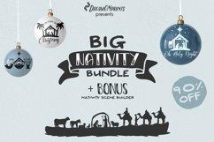 Nativity SVG Bundle | Christmas Nativity Bundle SVG Product Image 1