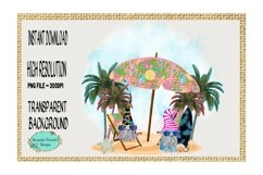 Summer Gnomes, Fun In the Sun, Sublimation Design Product Image 1