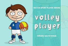 VECTOR Volleyball player Product Image 1