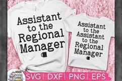Regional Manager Set of 2 SVG DXF PNG EPS Product Image 1
