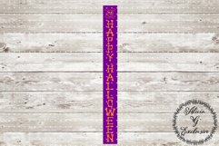 Happy Halloween Porch Sign 2 Product Image 1