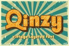 Qinzy - Vintage Font Product Image 1