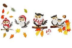 Owl Fall Autumn Bundle Product Image 3