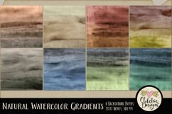 Watercolor Background Textures - Natural Gradient Papers Product Image 2