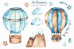 Transport bundle. Watercolor Product Image 13
