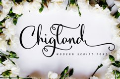 Chigland script Product Image 1