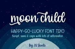 Moon Child Font Trio Product Image 1
