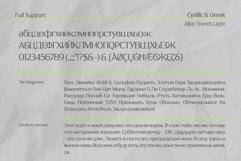 Afjat Trends - Latin, Cyrillic & Greek Product Image 2