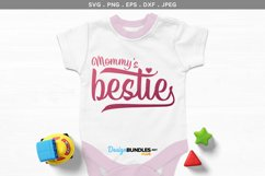 Mum / Mommy's Bestie - svg & printables Product Image 1