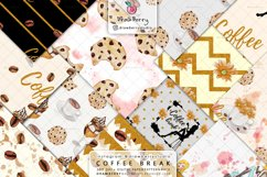 Coffee Beans Digital Patterns DP064 Product Image 1
