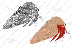 Doodle inspired ocean creatures Product Image 2