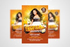 Summer Party Flyer 3 in 1 Bundle Template Product Image 3