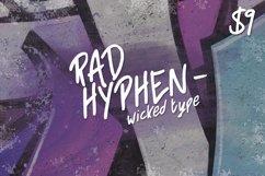 Rad Hyphen Font Product Image 1