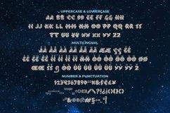 Black Hole Font Product Image 2
