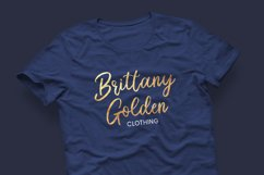 Brittany Golden - Calligraphy Script Product Image 2