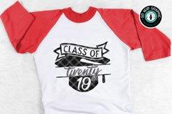Class of 2019 Graduation Cap SVG Cut File Product Image 1