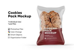 Cookies Pack Mockup Product Image 1