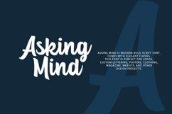 Asking Mind - Logotype Font Product Image 2