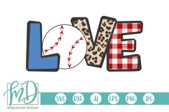 Baseball Mom - Biggest Fan - Love Baseball SVG Product Image 1