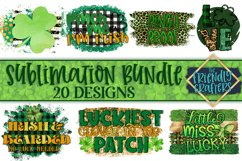 St. Patrick's Day Bundle for Sublimation Printables Product Image 1