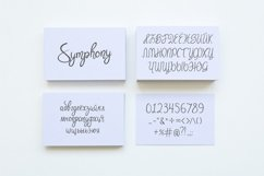 Symphony. Handycrafted font Product Image 3